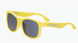 Okulary Babiators Navigator - Hellow yellow 3-5 lat