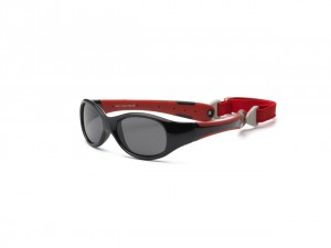 Okulary Explorer Polarized – Black and Red 2+