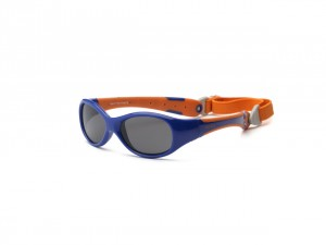 Okulary Explorer – Navy and Orange 0+