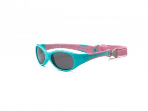 Okulary Explorer – Aqua and Pink 0+
