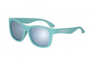 Okulary Babiators Turquoise Navigator with Blue Mirrored Lenses The Surfer 0-2 lata